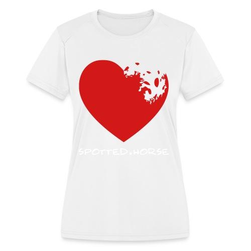 Appaloosa Heart - Women's Moisture Wicking Performance T-Shirt