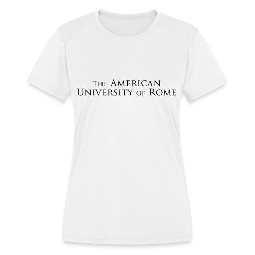 runwiththewolves_front - Women's Moisture Wicking Performance T-Shirt