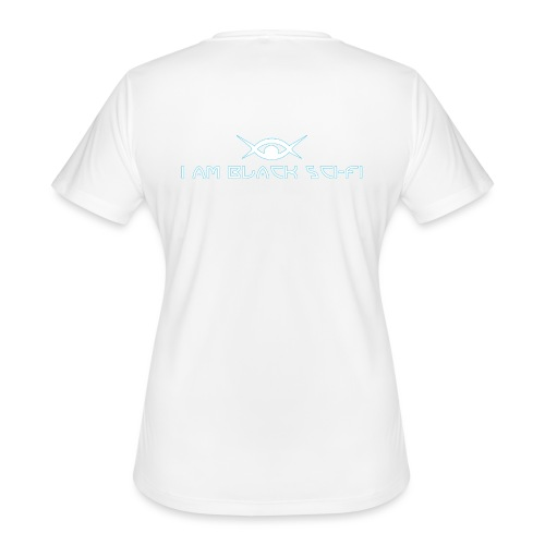 IAMBSF Logo and Text png - Women's Moisture Wicking Performance T-Shirt