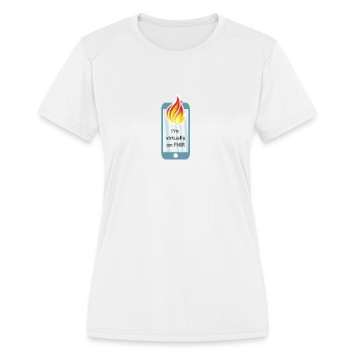 HL7 FHIR DevDays 2020 - Mobile - Women's Moisture Wicking Performance T-Shirt