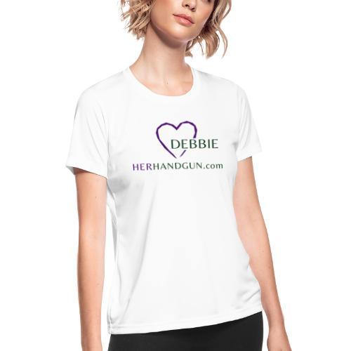 HerHandgun DEBBIE ONLY - Women's Moisture Wicking Performance T-Shirt