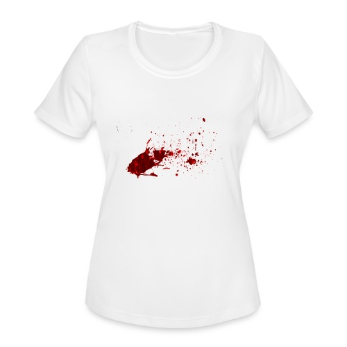 2017logo4000px - Women's Moisture Wicking Performance T-Shirt