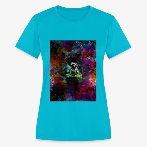 Astronaut - Women's Moisture Wicking Performance T-Shirt