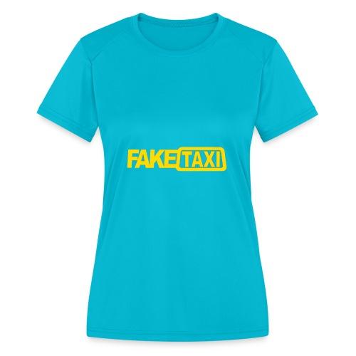 FAKE TAXI Duffle Bag - Women's Moisture Wicking Performance T-Shirt