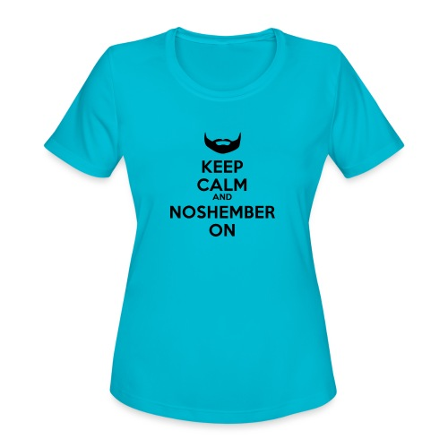 Noshember.com iPhone Case - Women's Moisture Wicking Performance T-Shirt