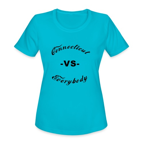 cutboy - Women's Moisture Wicking Performance T-Shirt