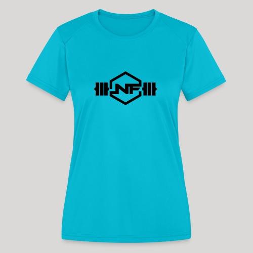 Natural Fitness Gym Logo - Women's Moisture Wicking Performance T-Shirt