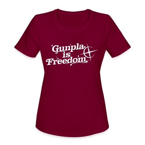 Freedom Men's T-shirt — Banshee Black - Women's Moisture Wicking Performance T-Shirt