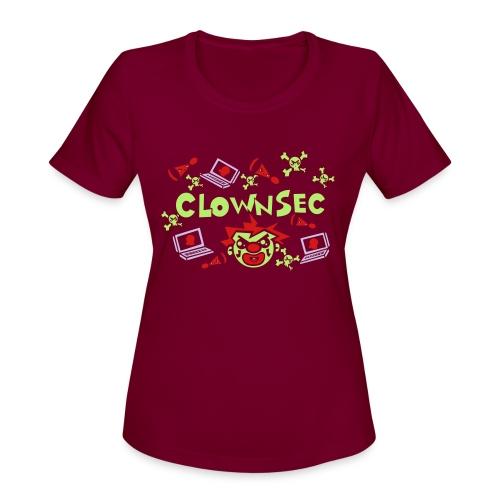 The Clown Hacker - Women's Moisture Wicking Performance T-Shirt