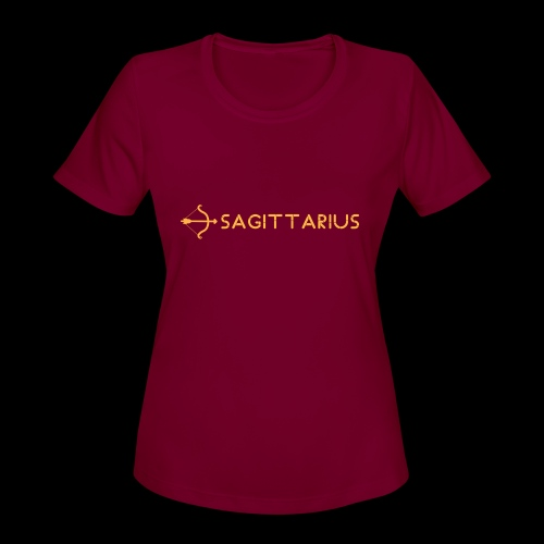Sagittarius - Women's Moisture Wicking Performance T-Shirt