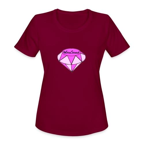 LIT MERCH - Women's Moisture Wicking Performance T-Shirt
