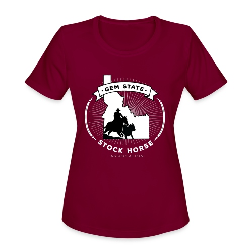 Sunburst Logo - Women's Moisture Wicking Performance T-Shirt