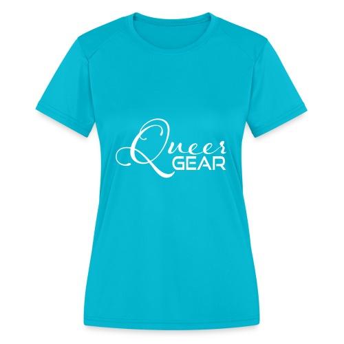Queer Gear T-Shirt 03 - Women's Moisture Wicking Performance T-Shirt