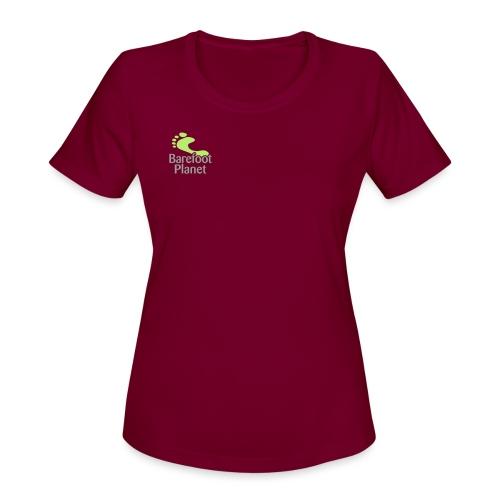 Barefoot Running 1 Women's T-Shirts - Women's Moisture Wicking Performance T-Shirt
