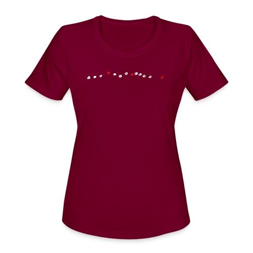 Bear McCreary: Thirteen Notes - Women's Moisture Wicking Performance T-Shirt