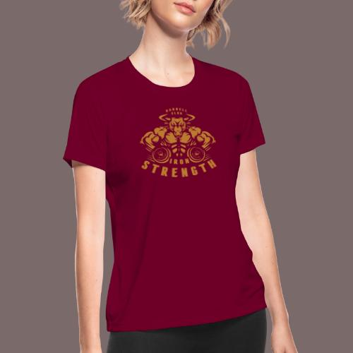 Gold Bull - Women's Moisture Wicking Performance T-Shirt