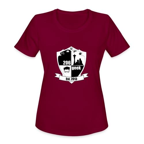 206geek podcast - Women's Moisture Wicking Performance T-Shirt