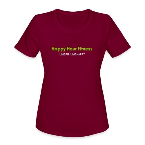 HHF_logotypeandtag - Women's Moisture Wicking Performance T-Shirt