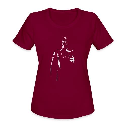 Rubber Man Wants You! - Women's Moisture Wicking Performance T-Shirt
