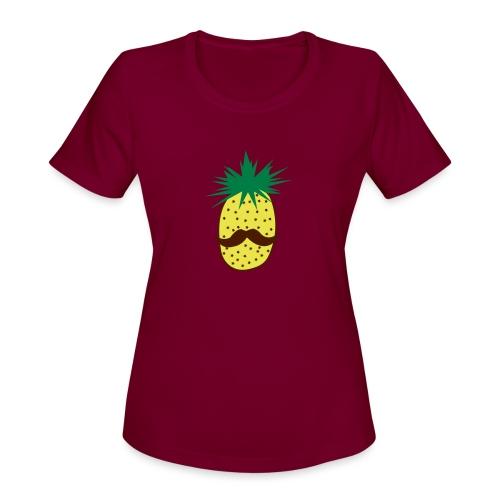 LUPI Pineapple - Women's Moisture Wicking Performance T-Shirt
