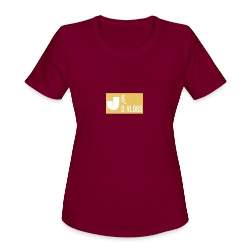 J & O Vlogs - Women's Moisture Wicking Performance T-Shirt