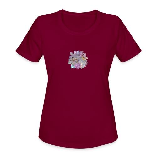 CrystalMerch - Women's Moisture Wicking Performance T-Shirt