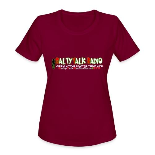 str front png - Women's Moisture Wicking Performance T-Shirt