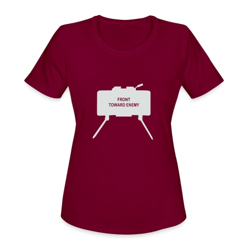 Claymore Mine (Minimalist/Light) - Women's Moisture Wicking Performance T-Shirt