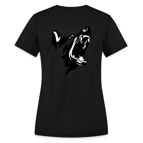 German Shepherd Dog Head - Women's Moisture Wicking Performance T-Shirt