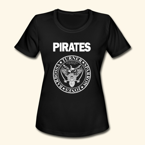 Punk Rock Pirates [heroes] - Women's Moisture Wicking Performance T-Shirt