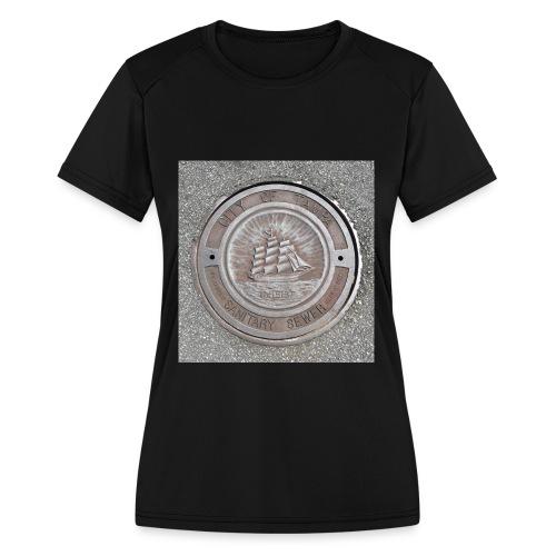 Sewer Tee - Women's Moisture Wicking Performance T-Shirt