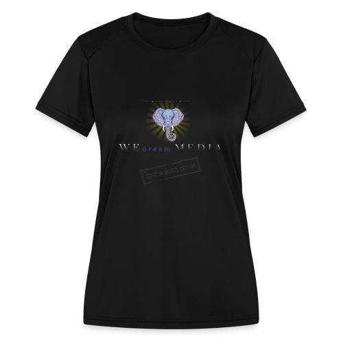 pro_logo_png_444444 - Women's Moisture Wicking Performance T-Shirt