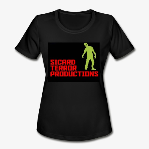 Sicard Terror Productions Merchandise - Women's Moisture Wicking Performance T-Shirt