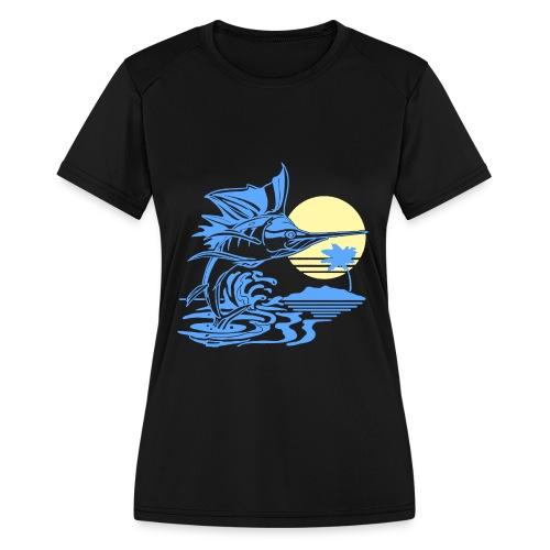 Sailfish - Women's Moisture Wicking Performance T-Shirt