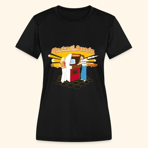 Master of the Arcade - Women's Moisture Wicking Performance T-Shirt