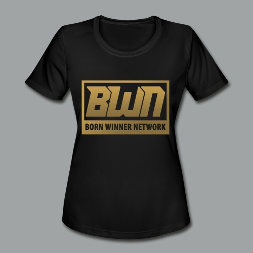 BWN (Gold) - Women's Moisture Wicking Performance T-Shirt
