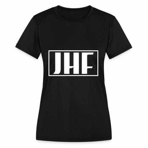 JHF logo 2 - Women's Moisture Wicking Performance T-Shirt