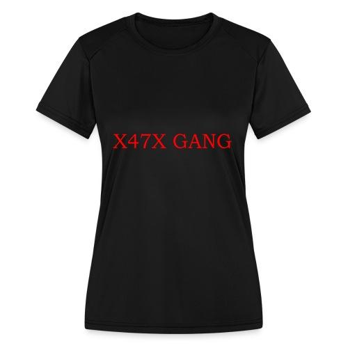 X47X GANNNGGGGG - Women's Moisture Wicking Performance T-Shirt