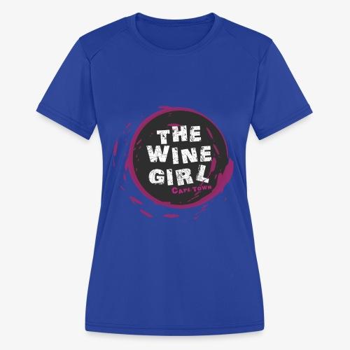 The Wine Girl - Women's Moisture Wicking Performance T-Shirt