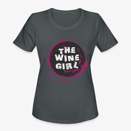 The Wine Girl - Women's Moisture Wicking Performance T-Shirt
