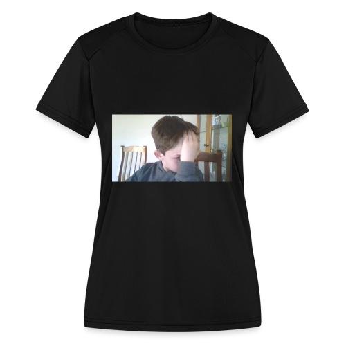 Luiz FAce!! - Women's Moisture Wicking Performance T-Shirt