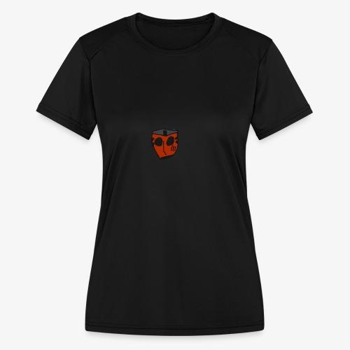 Scratched Mask MK IV - Women's Moisture Wicking Performance T-Shirt