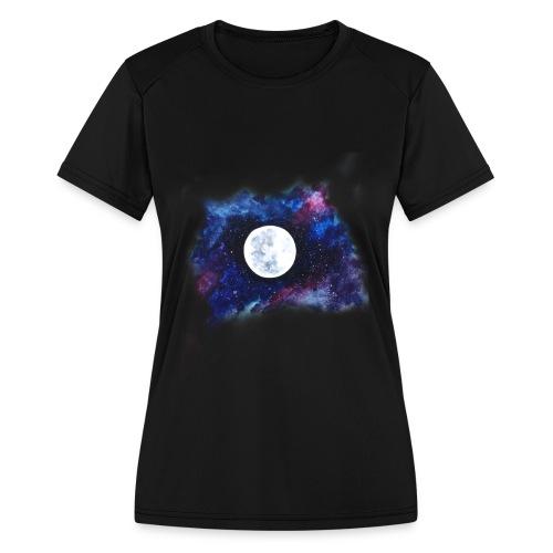 moon shirt - Women's Moisture Wicking Performance T-Shirt
