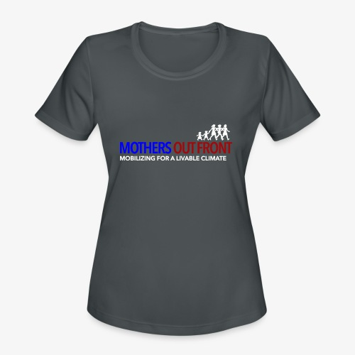 Mothers Out Front Logo - Women's Moisture Wicking Performance T-Shirt