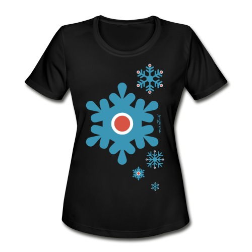 Peri Christmas - Women's Moisture Wicking Performance T-Shirt