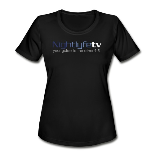 NTV Logo Full - Women's Moisture Wicking Performance T-Shirt