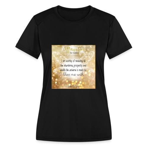 Abundance - Women's Moisture Wicking Performance T-Shirt