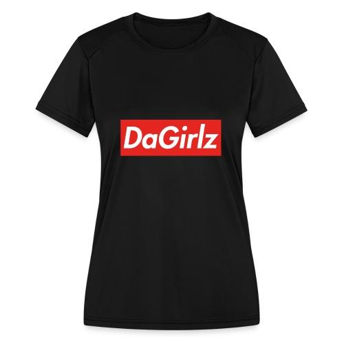 DaGirlz - Women's Moisture Wicking Performance T-Shirt