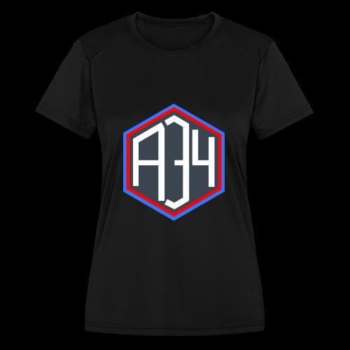 Adrian 34 LOGO - Women's Moisture Wicking Performance T-Shirt