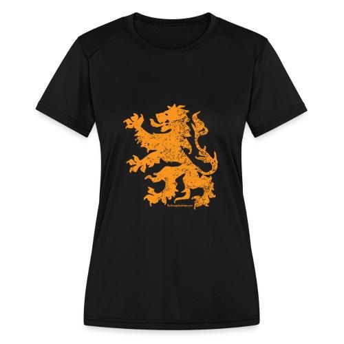 Dutch Lion - Women's Moisture Wicking Performance T-Shirt